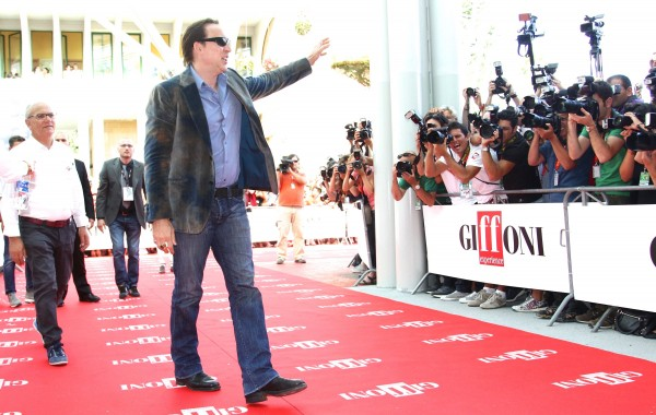 on July 18, 2012 in Giffoni Valle Piana, Italy.