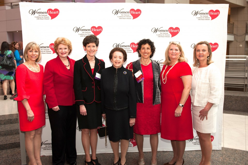 Carrie Loveless_ Senator Stabenow_ Dr. Carolyn Clancy_ Dr. Wenger_ Dr. Redberg_ Jerri Anne Johnson_ Lisa M. Tate