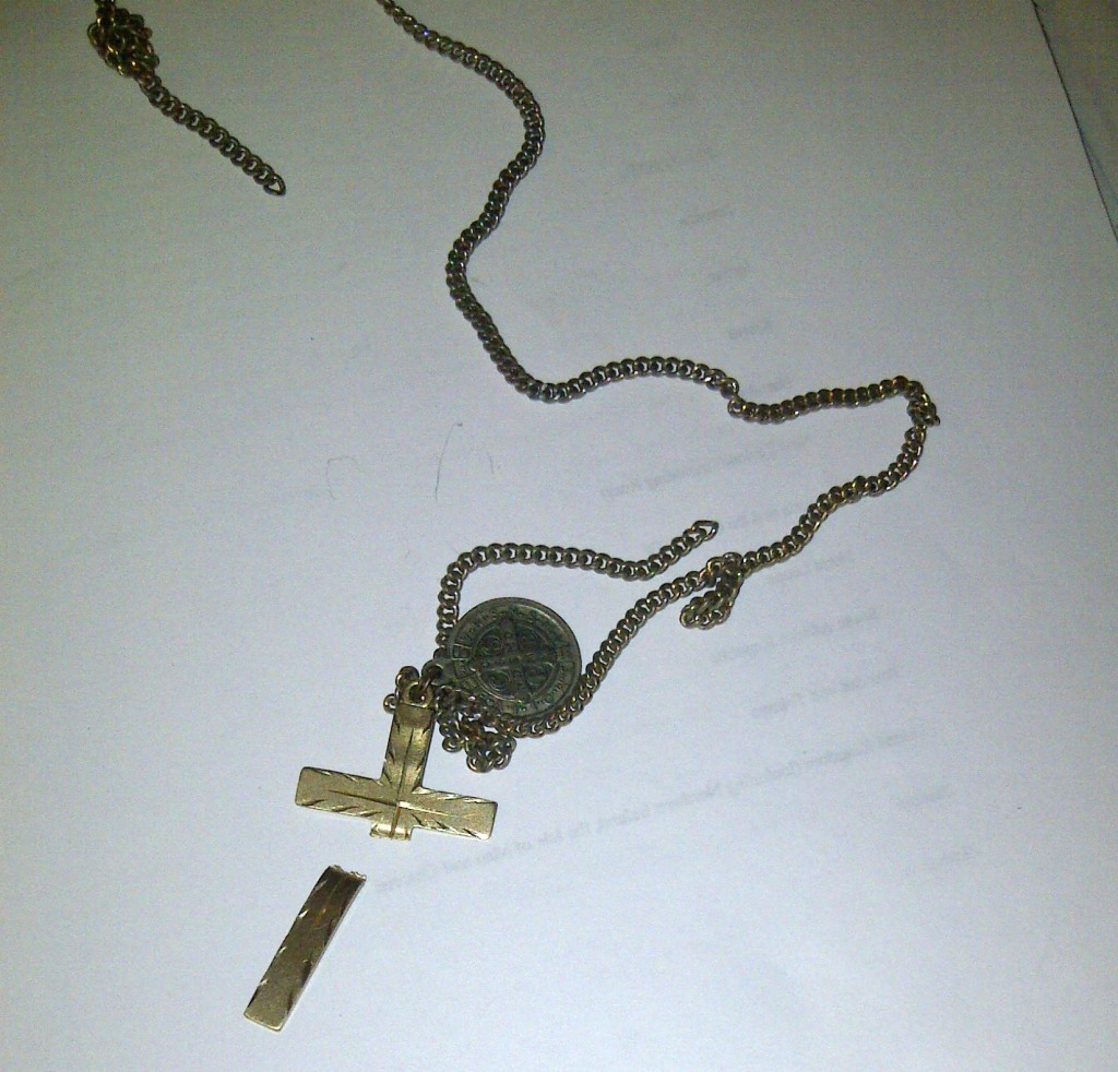 Broken Cross and Chain