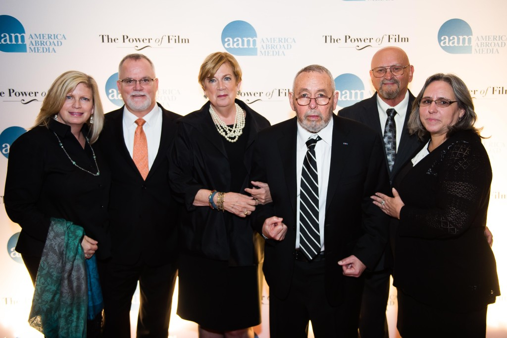 Heidi and Greg Falkenstein - Jonna Mendez - Tony Mendez - Gary and Amanda Castle at AAM Awards by Joy Asico