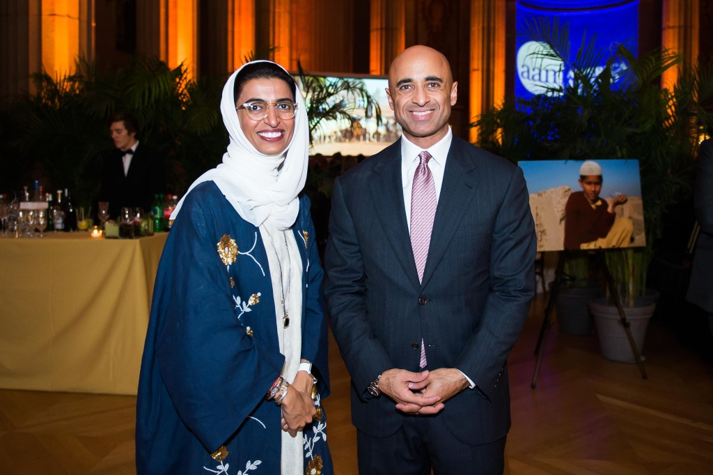 Noura Al Kaabi and UAE Ambassador Yousef Al Otaiba at AAM by Joy Asico