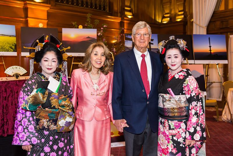 Oliver Carr, Akiko Keene, Geisha Dancers