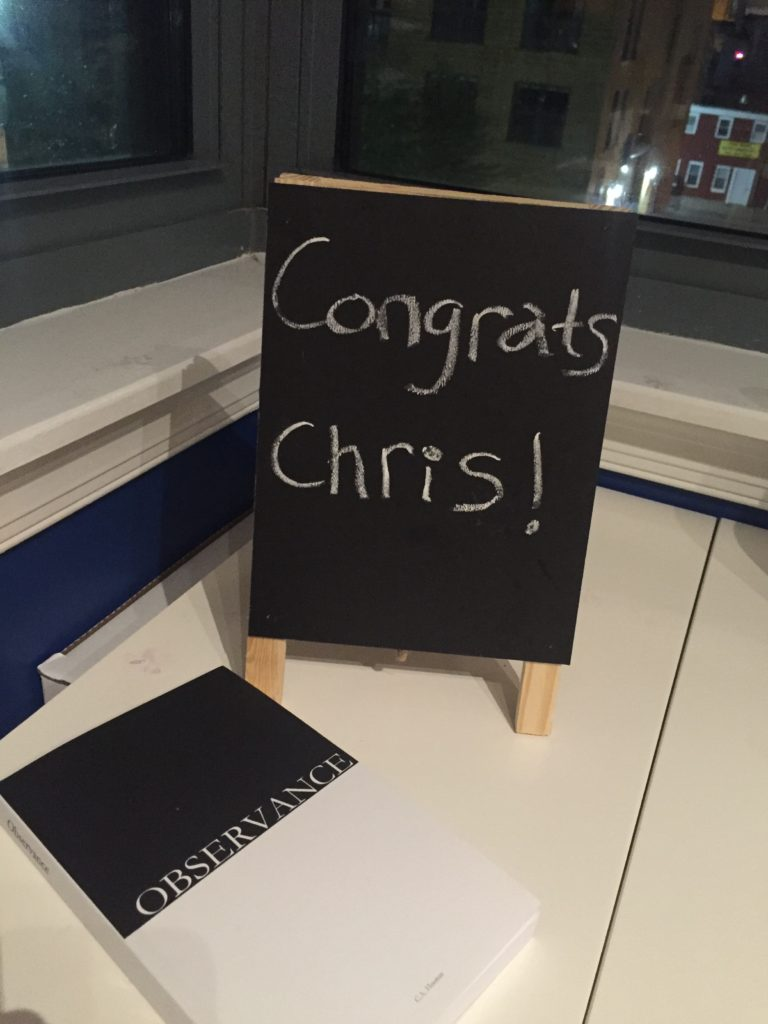 Congrats Chris
