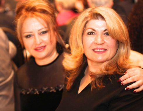 Lubana Al Quntar, opera singer from Syria and Salwa Al Dakheel, Founder, Free Syria Foundation
