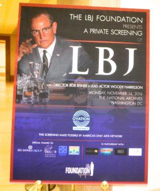 LBJ Poster